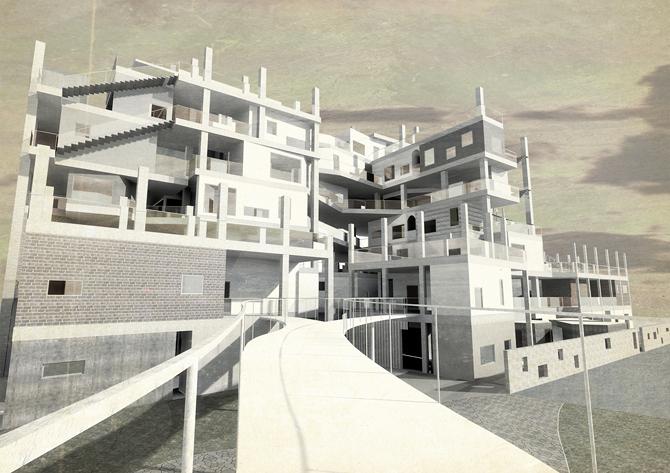 モダン・タイムス -合理化社会に対する新たなオフィスビルの提案-
