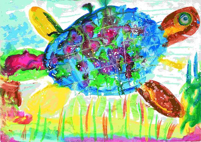 「ウミガメ」