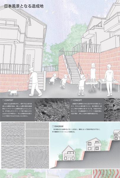 日本風景となる造成地