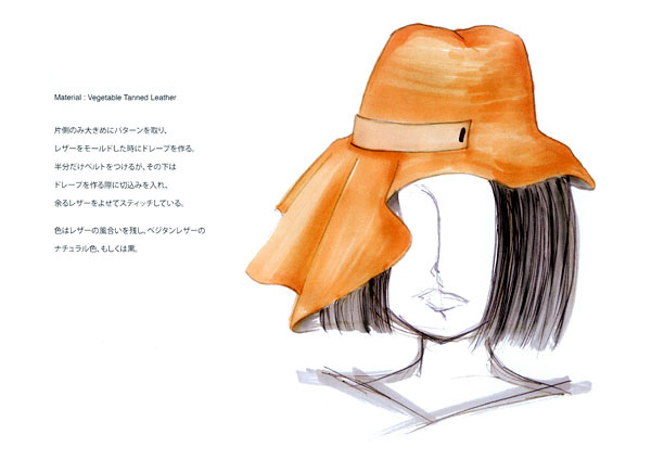 「Asymmetric Hat」