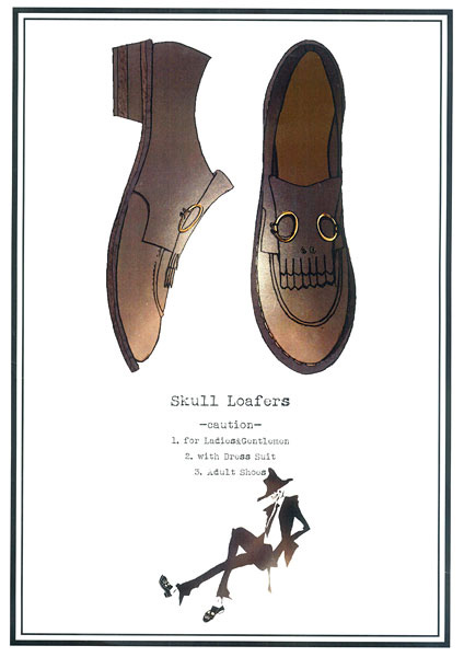 「skull loafers」