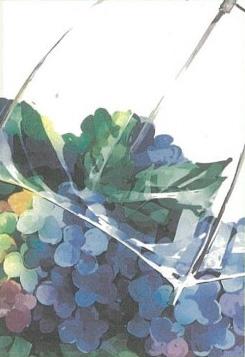 「紫陽花と傘」