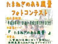 兵庫県淡路ファームパークで「たまねぎのある風景フォトコンテスト」が実施中