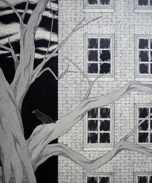ある窓の多い家