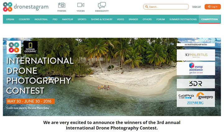 【海外情報】プロからアマチュアまで、世界中の人々が参加した「ドローン写真コンテスト」入選作品が決定