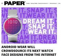 【海外情報】Googleが「Android Wear ウォッチフェイス」デザインコンテストを実施中、締切は9月15日まで