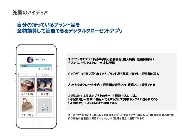 コメ兵デジタルクローゼットアプリ