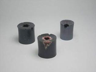 一輪挿し蓋置 炭に七星・炭火・飾炭