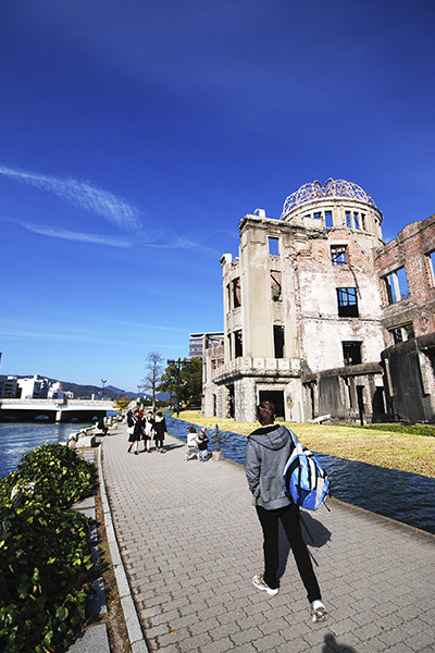 献水盤 -Water feature for Atomic Bomb Dome-