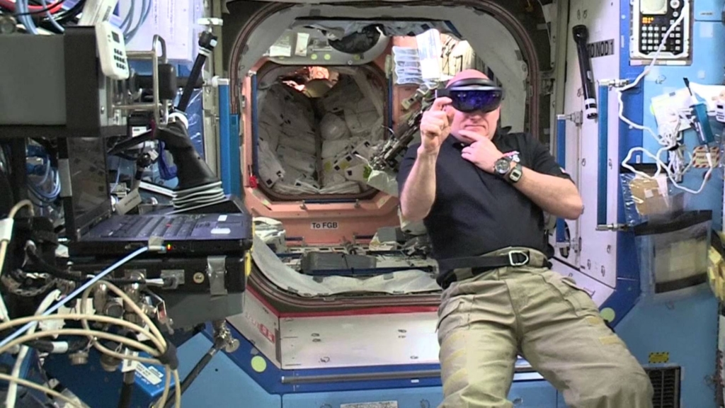HoloLens in ISS