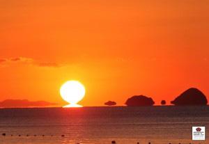 東雲の日の出