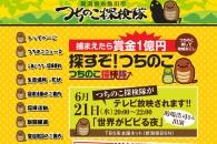【公募情報】「つちのこ」捕まえたら賞金1億円! 発見情報を募集中