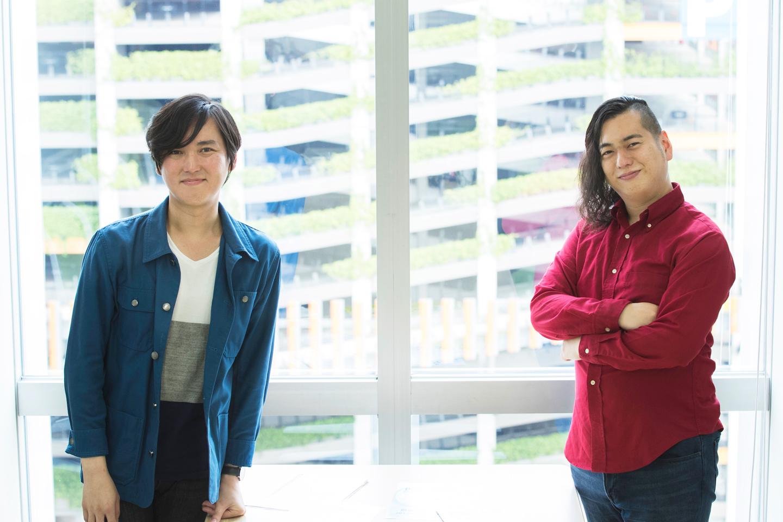 DREAM FACTORY(ドリファク)運営の二人。「世界にはばたけ! ショートムービーコンテスト」への動画応募を待つ!