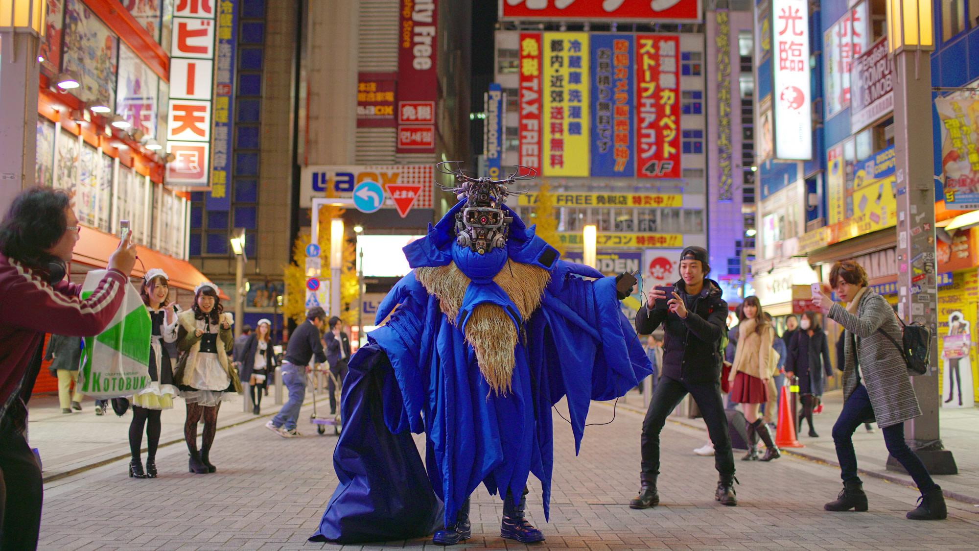 都市のナマハゲ – Namahage in Tokyo Photo:Kenji Watanabe