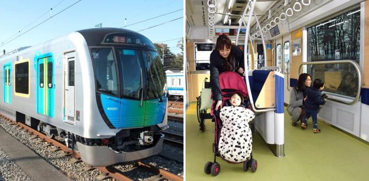 最優秀賞「西武鉄道 新型通勤車両40000系」