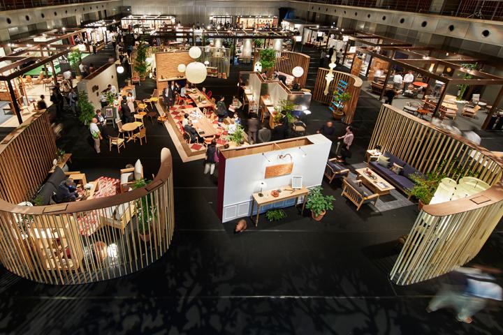 飛騨の家具®フェスティバル2017 メイン会場(画像 © Nacása & Partners Inc.)