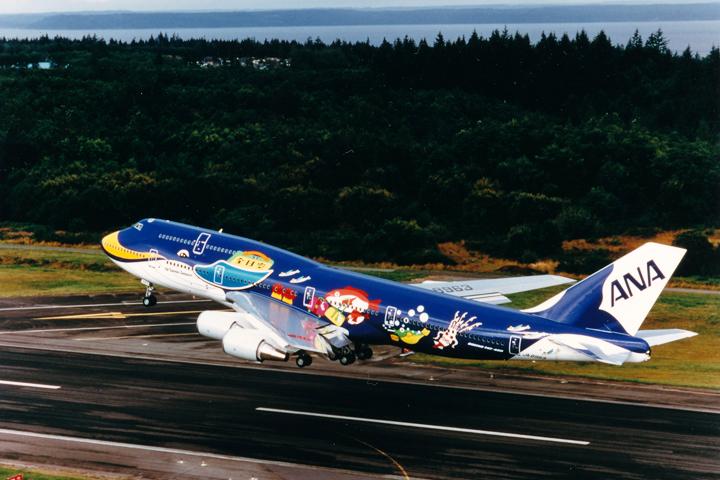 マリンジャンボ  画像提供:全日本空輸(ANA)
