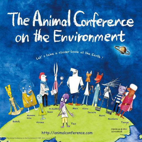 日本と世界の子どもたちが創発。<br />「せかい!動物かんきょう会議」