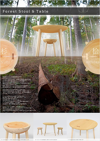 Forest Stool & Table