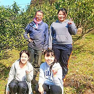 Iターン者×学生の柚子の木オーナー制度