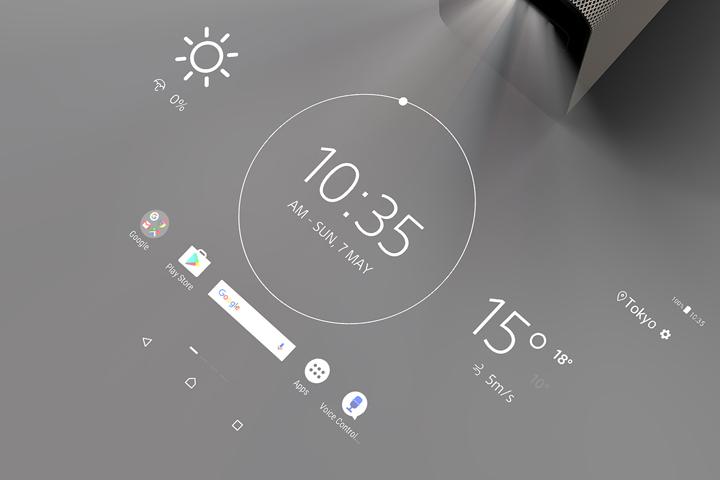 スマートプロダクト「Xperia Touch」(ソニー + ソニーモバイルコミュニケーションズ)