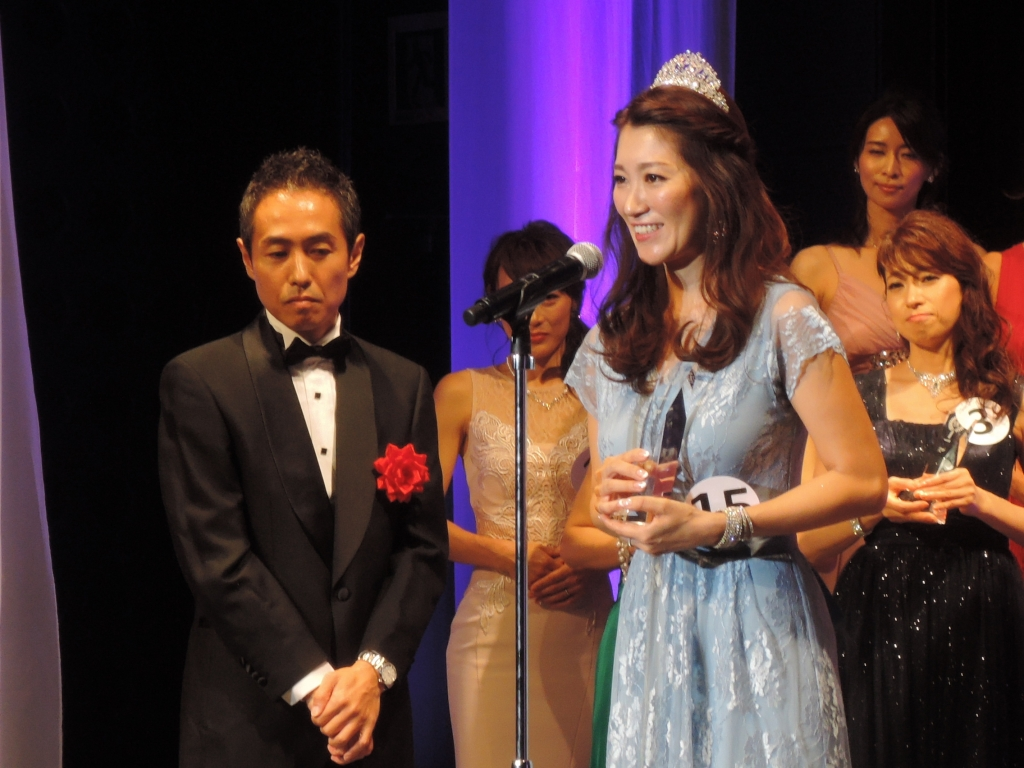 「国民的美魔女コンテスト」第8代グランプリ 村田 優美さん