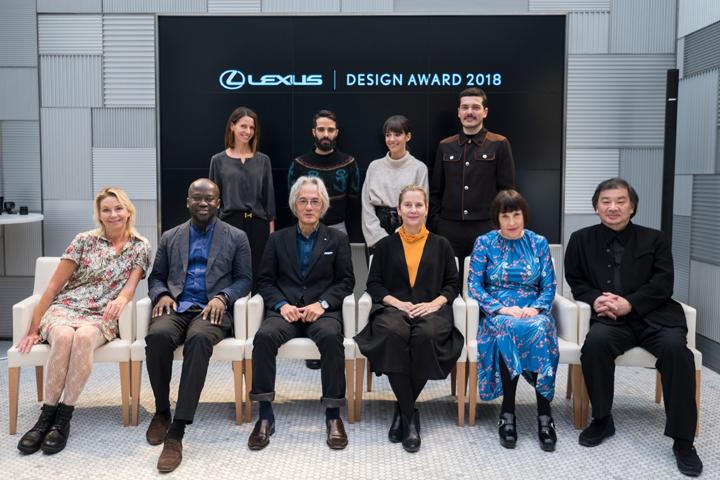 LEXUS DESIGN AWARD 2018 ファイナリスト審査会に集まった世界の著名クリエイターたち