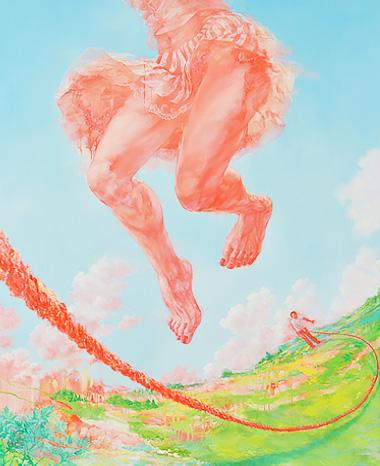 グランプリ作品《それが来るたびに跳ぶ 降り立つ地面は跳ぶ前のそれとは異なっている》仙石裕美