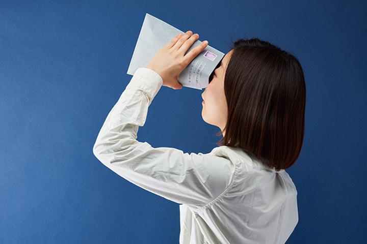 画像:福永紙工「かみの工作所」 星空の封筒