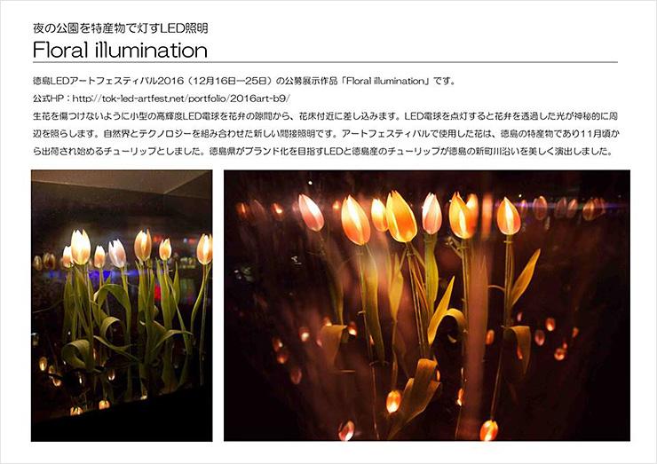 Floral illumination~徳島の光~