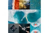【結果速報】世界規模のドローン空撮写真コンテスト 最優秀賞はホッキョクグマの一瞬を捉えた作品