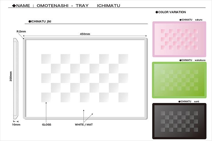 OMOTENASHI - TRAY