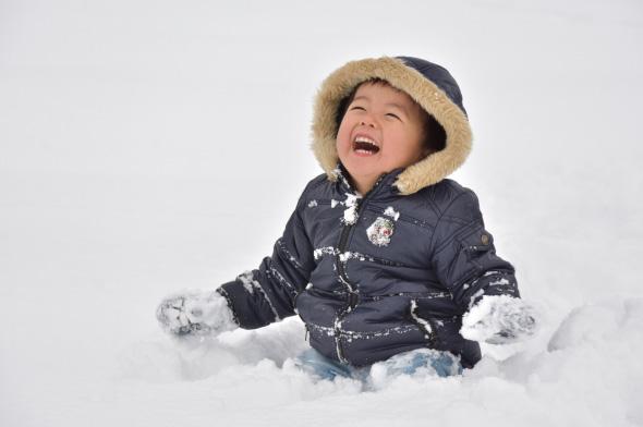雪がいっぱい!