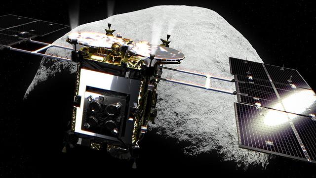 はやぶさ2 小惑星リュウグウ到着予想図