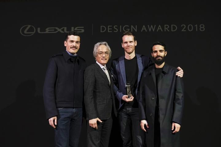 次世代のクリエイターをLEXUSが育成・支援するデザインコンペLEXUS DESIGN AWARD 2018のグランプリ受賞者を発表