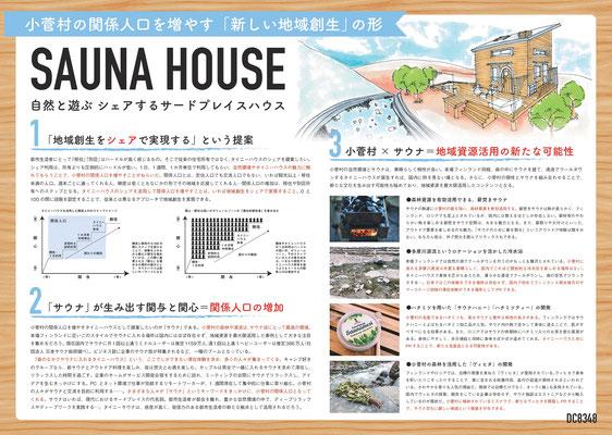 SAUNA HOUSE 自然と遊ぶシェアするサードプレイスハウス