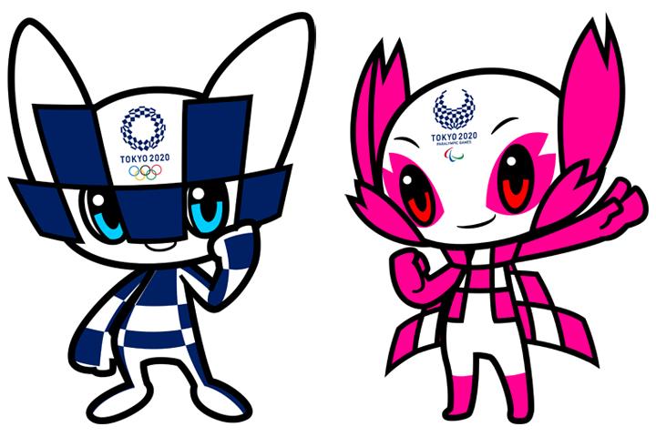 テーマとなっている東京2020オリンピック・パラリンピックのマスコット。名前やポーズが7月22日に発表予定だ