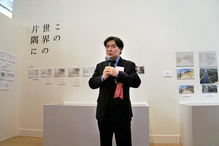 第21回メディア芸術祭 アニメーション部門大賞「この世界の片隅に」の片渕須直監督