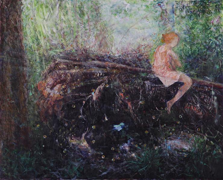 森の中A空