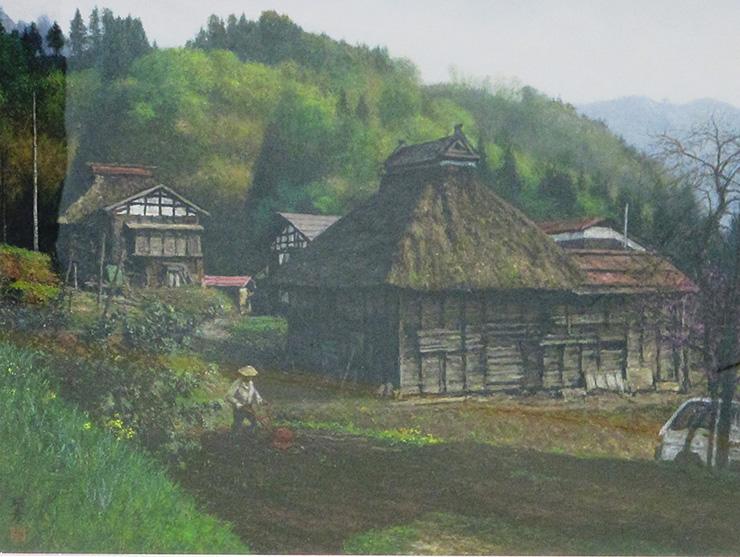 民家の在る風景