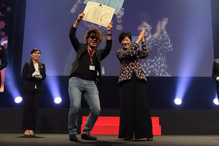SSFF & ASIA Cinematic Tokyo部門授賞式の様子