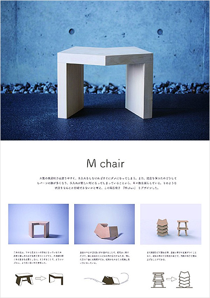 M chair(風呂椅子)