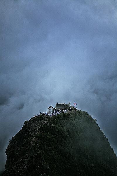 霊峰の夏山開き