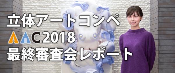 学生限定・立体アートコンペ「AAC」 2018年 最終審査会レポート
