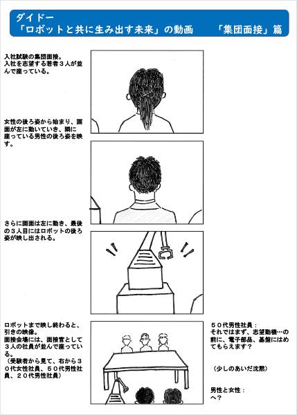 「集団面接」篇