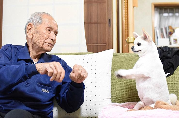 年の差86歳