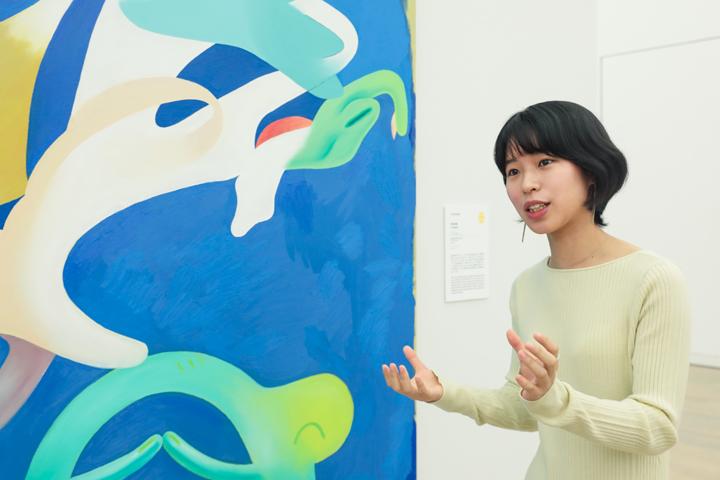 シェル美術賞2018 学生特別賞 深川未貴さん