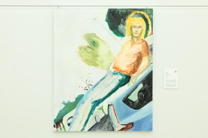 シェル美術賞2018グランプリ「Self Portrait I」作品画像(近藤太郎 作)