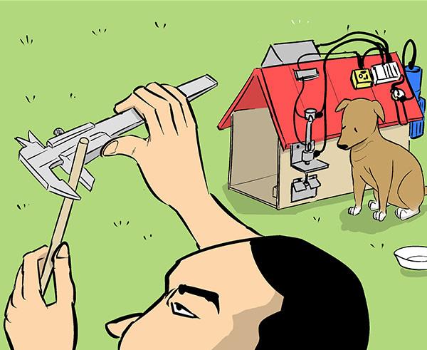 ミクロまで 精度求める DIY