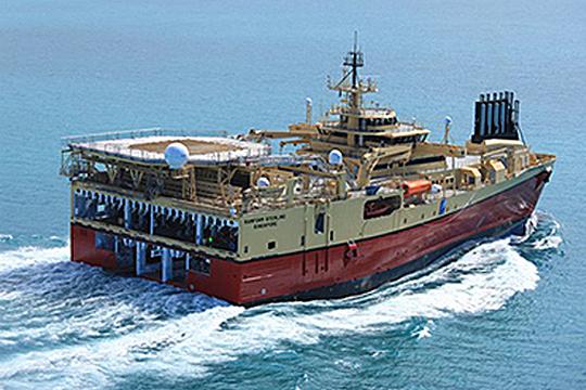 導入する資源調査船の画像(船体カラーは変更予定)
